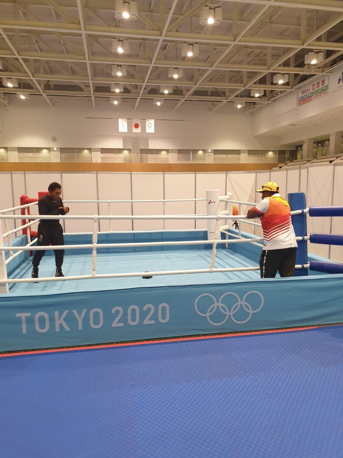 PNG's 14th Bpxer John Ume at Tokyo Olympics