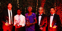 Five inducted into Sports Hall of Fame
