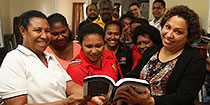 PNGOC family culture inspires story in new PNG book