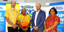 Brian Bell partners with PNGOC to support Team PNG for Tokyo 2020