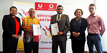 Bmobile-Vodafone connects Team PNG home