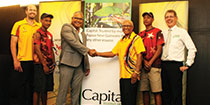 PNG Olympic Committee welcomes Capital Insurance as new corporate partner