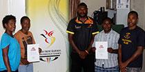 PNGOC supports participants to GAPS programme