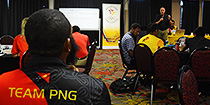 Team PNG moving forward with Games Planning