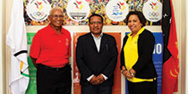 Vice Sports Minister visits PNG Olympic Committee