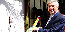 PNG Olympic Haus opened by IOC President