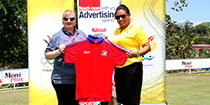 The National presents shirts for PM's Corporate Golf Challenge