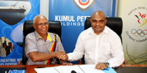 Kumul Petroleum Holdings Limited supports Team PNG