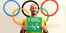 Ryan Pini: SDG Champion for Goal 3 - Good Health and Well-Being