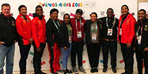 Team PNG lines up in Argentina for YOG