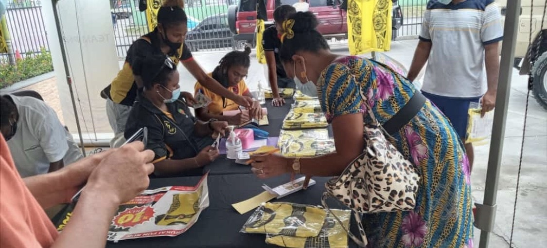 PNGOC urges everyone to support Team PNG's dream to Tokyo 2020 Olympic in July and buy a Trukai Fun