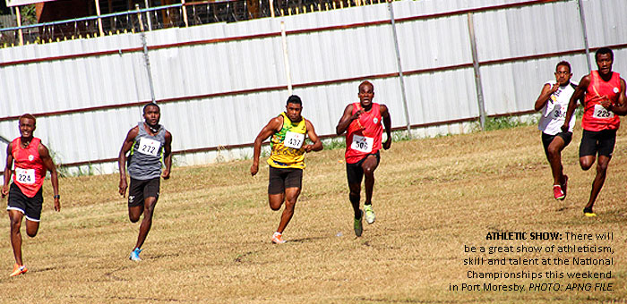 Stage set for National Championships in Port Moresby
