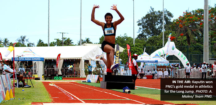 PNG starts second week well with athletics