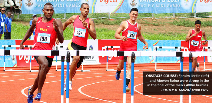 Athletics brings in more medals for PNG