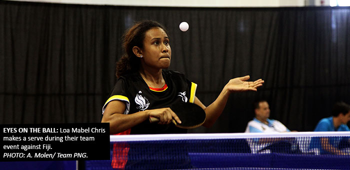PNG Table Tennis makes bronze final