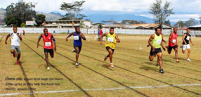 Athletics nationals draws 400