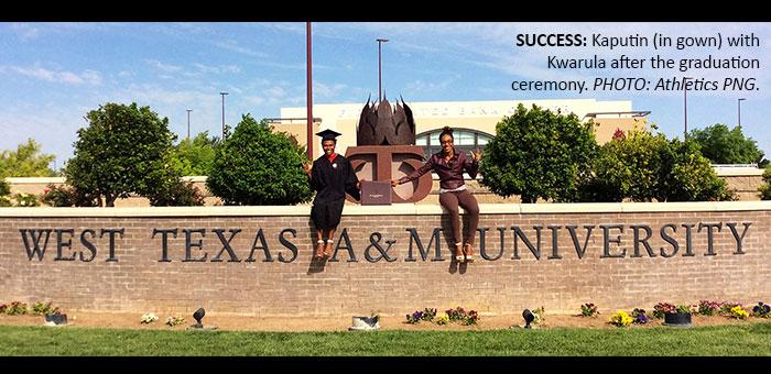 Kaputin completes college programme in USA