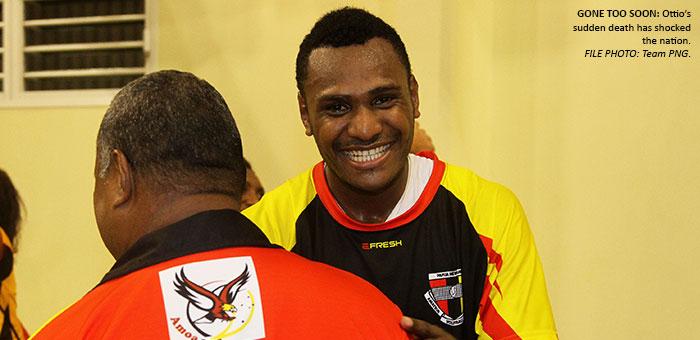 Ottio, a sad loss for PNG